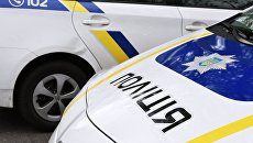 Сотрудники Украинской полиции
