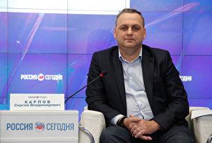 Министр жилищно-коммунального хозяйства Республики Крым Сергей Карпов