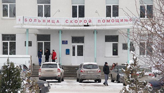 Симферопольская городская больница 6 скорой медицинской помощи получила в дар от чечни портативный картриджный