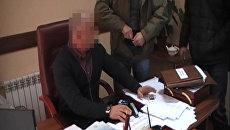 Задержание заместителя главы администрации Керчи. Оперативное видео