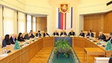 Заседание Общественной палаты Республики Крым. Архивное фото