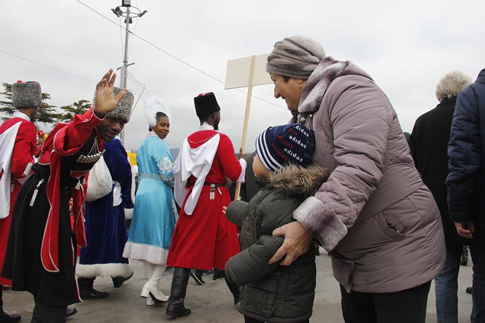 Ялтинский Мороз-парад: 600 участников из Крыма, Севастополя и Краснодара, фото-8