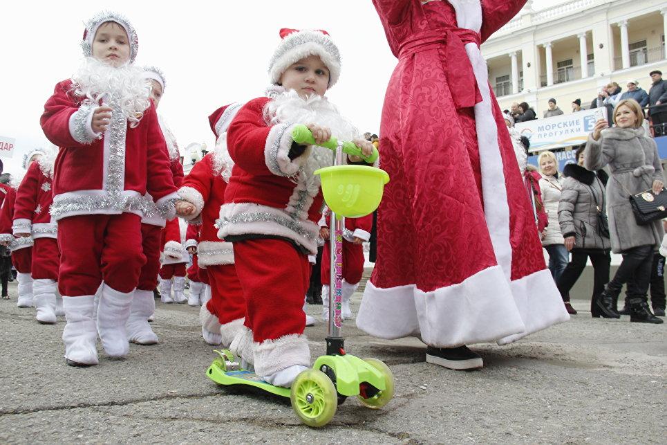 Ялтинский Мороз-парад: 600 участников из Крыма, Севастополя и Краснодара, фото-5