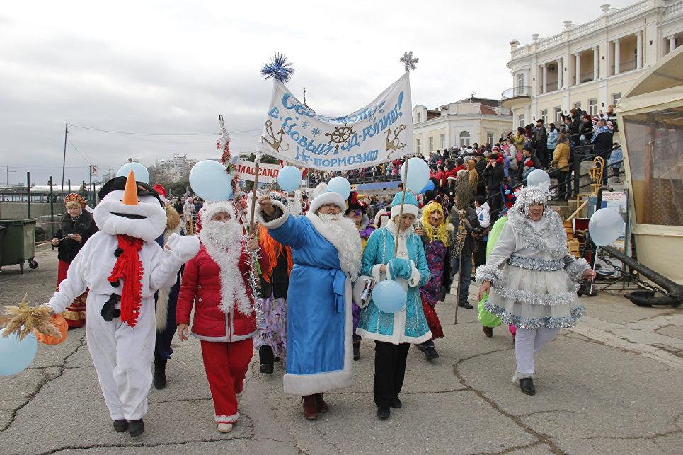 Ялтинский Мороз-парад: 600 участников из Крыма, Севастополя и Краснодара, фото-7