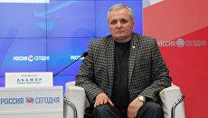 Председатель национально-культурной автономии болгар Крыма Иван Абажер