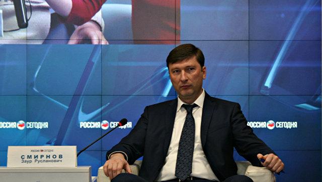 Председатель Госкомитета по делам межнациональных отношений и депортированных граждан Крыма Заур Смирнов
