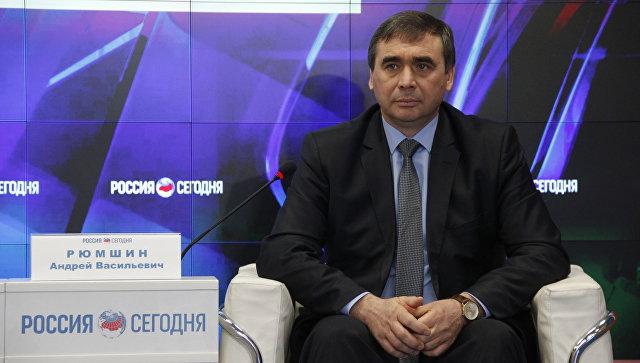Министр сельского хозяйства Республики Крым Андрей Рюмшин
