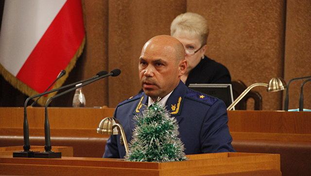 Прокурор Республики Крым Олег Камшилов