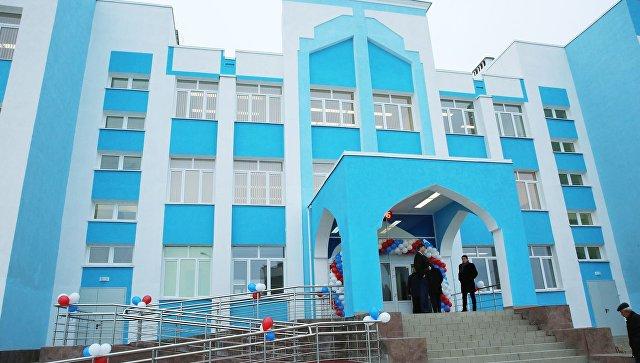 Школа в симферопольском микрорайоне Фонтаны