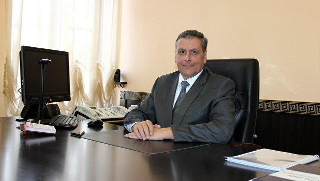 Генеральный директор ФГУП Крымская железная дорога Алексей Гладилин