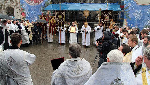 Рождественский крестный ход в Севастополе