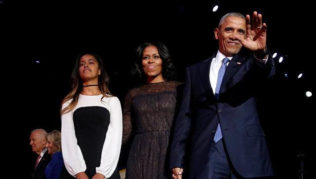 Барак Обама во время прощальной речи в Чикаго. 11 января 2017