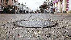 Реконструкция центра Симферополя