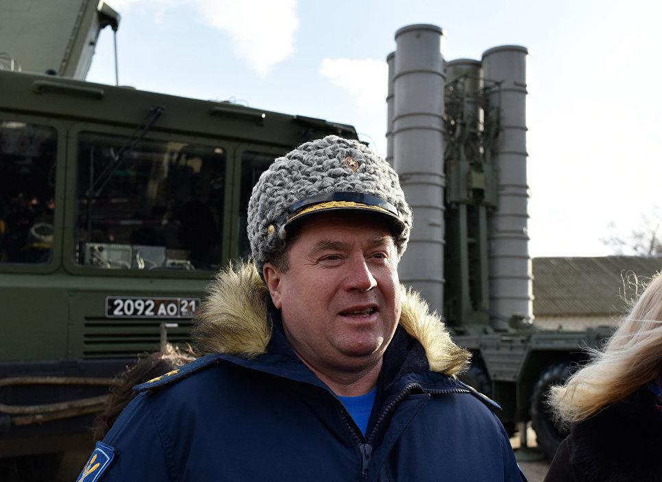 Командующий четвертой армией ВВС и ПВО генерал-майор Виктор Севастьянов