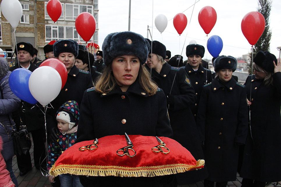 ВСевастополе для служащих ФСБ сдали вэксплуатацию дом
