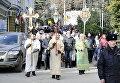 Крестный ход по случаю праздника Крещения в Ялте