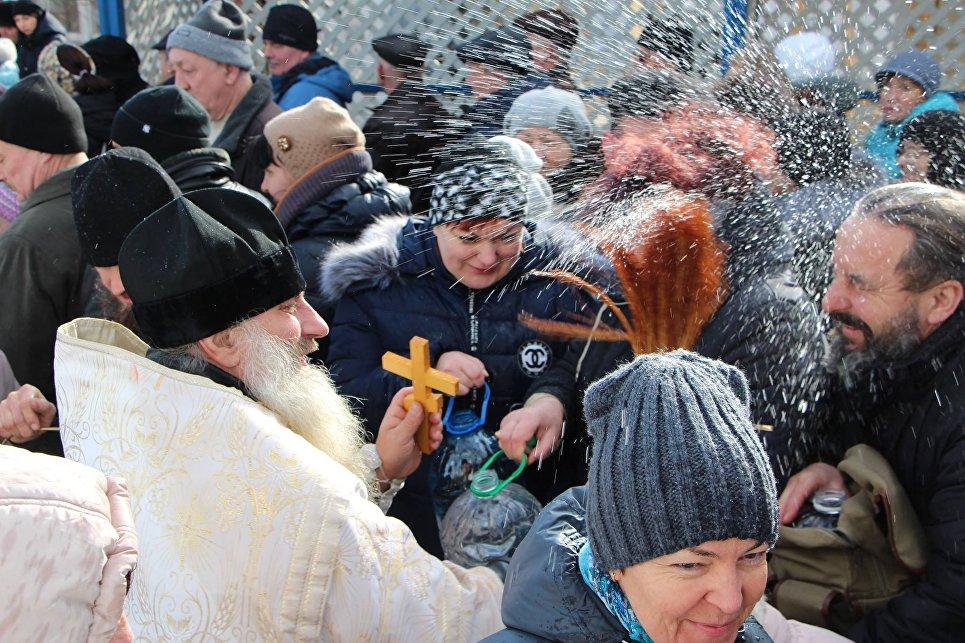 Праздник Крещения в Судаке