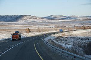 Автомобильная дорога. Архивное фото