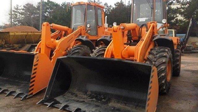 Крымавтодор получил новую дорожную технику