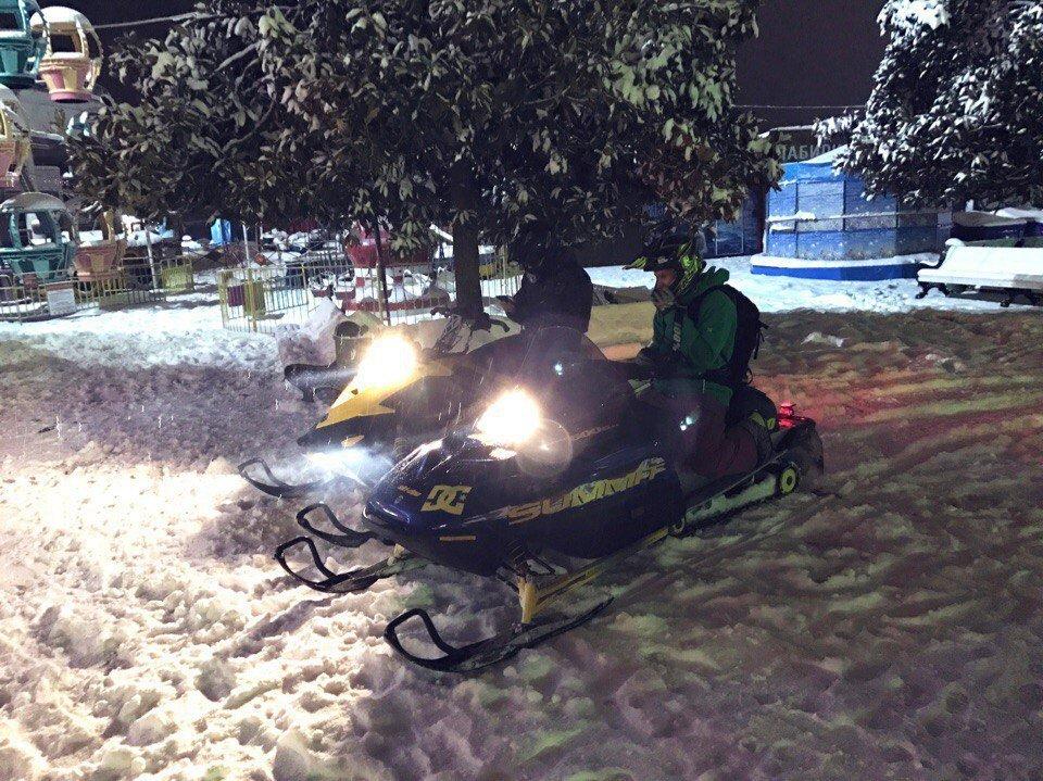 Снегопад в Ялте глазами пользователей социальных сетей
