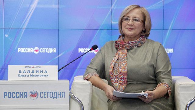 Руководитель территориального органа Федеральной службы государственной статистики по Республике Крым Ольга Балдина