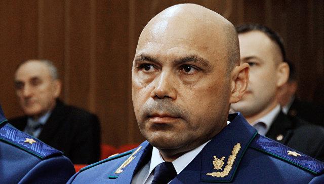 Прокурор Республики Крым Олег Камшилов. Архивное фото