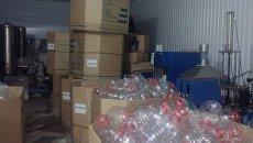 Крымские налоговики обнаружили крупный склад и незаконный цех по производству пивобезалкогольных напитков