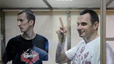 Слушание по уголовному делу в отношении украинского режиссера Олега Сенцова