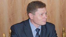 Начальник управления транспорта и связи администрации Симферополя Андрей Шабалин