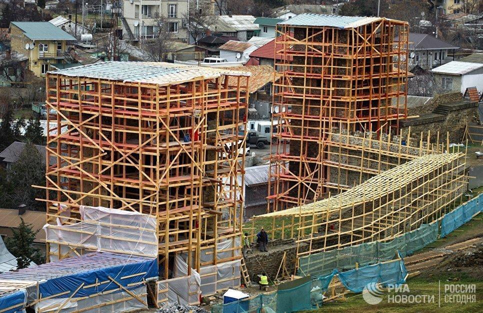 Реконструкция Генуэзской крепости в Судаке