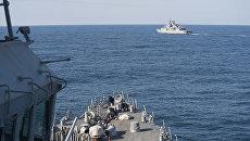 Военный корабль США в Черном море