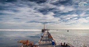 Лед в Керченском проливе