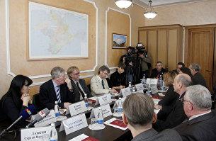 Британские ученые в Крыму