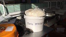 Уничтожение фальсифицированной продукции в школе и детсаду Крыма. Архивное фото