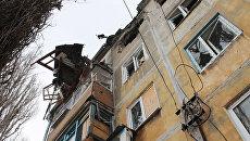 Ситуация после обстрелов в Донецке