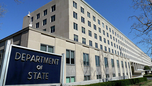 Здание Госдепартамента в США