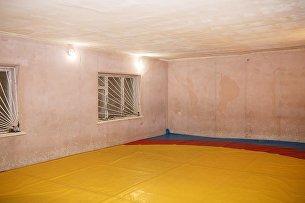 Дом, который олимпийский чемпион Рустем Казаков передал для переоборудования под многофункциональный спортивный зал