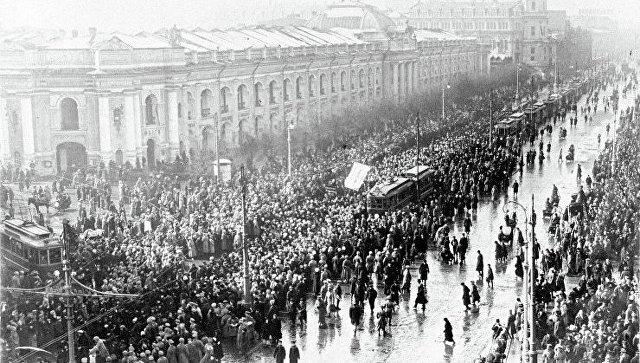 Траурное шествие
