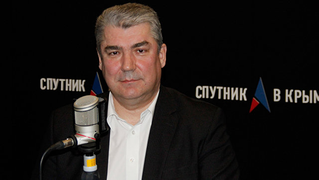 Министр здравоохранения Республики Крым Александр Голенко