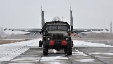 На аэродроме в Новофедоровке