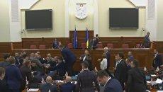Драка в Киевском совете