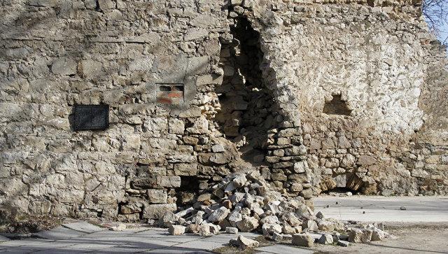 Башня святого Константина в Феодосии