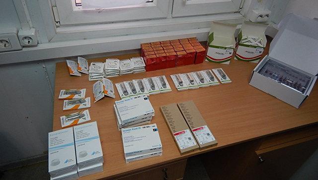 Препараты для стоматологии задержаны в пункте пропуска Армянск