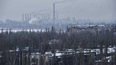 Авдеевский коксохимический завод. Архивное фото