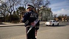 Акция Цветочный патруль в городах Крыма
