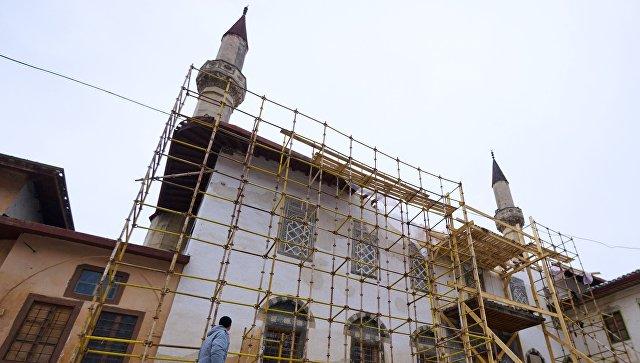 Ханский дворец вБахчисарае отреставрируют