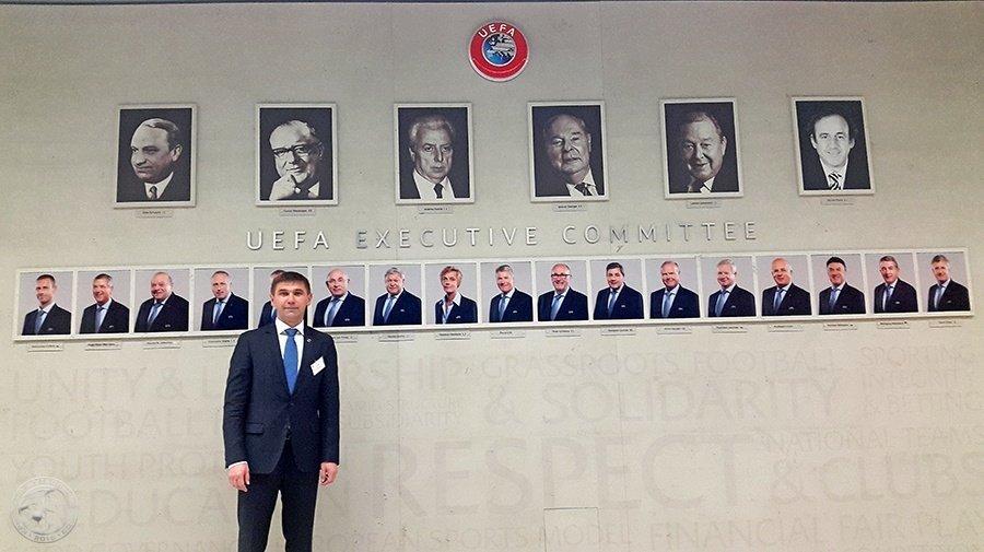 УЕФА выделил EUR 1 млн наразвитие футбола вКрыму