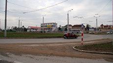 Автомобильная развязка на 5-ом километре в Севастополе