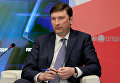 Председатель Государственного комитета по делам межнациональных отношений и депортированных граждан Республики Крым Заур Смирнов