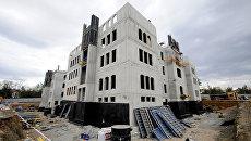 Строительство комплекса Соборной мечети в Симферополе